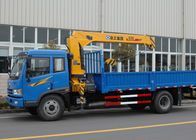 China Economical Construction Telescopic Boom Truck Mounted Crane For Municipal Services factory