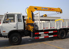 China Durable Hydraulic System Telescopic Boom Mobile Crane With 6300kg factory