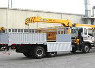 China Durable Cargo Mobile Truck Loader Crane With 55 L/min Max Oil Flow factory