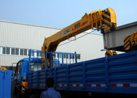 China Durable 8 Ton Lifting Capacity Truck Loader Crane With Telescopic Boom factory