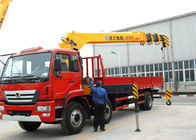 China High auality  12T Telescopic Truck Loader Crane , XCMG Hydraulic Truck Crane factory