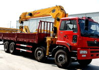 China Economical Heavy Things Lift Truck Loader Crane , 16 Ton Truck With Crane factory