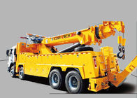 China Durable 200KN Emergency Rescue Wrecker Tow Truck , 15 Ton Breakdown Recovery Truck factory