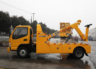 China Durable Hydraulic 6000kg Wrecker Tow Truck , Highway / City Road Occasion Breakdown Recovery Truck factory