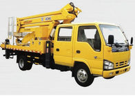 China Construction Truck Mounted Lift , 23.2m Vehicle Mounted Boom Lift factory