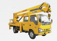 China Truck Mounted Lift 9.7m , 2 Ton Truck Mounted Aerial Lift factory