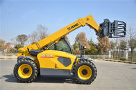 China Confortable XC6-3007 Telescopic Telehandler Forklift forklength 1200mm with Deutz engine factory