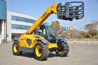 China High Efficiency XC6-3007 Rent Telescopic Telehandler Forklift , Small Telescopic Forklift Extended Boom factory