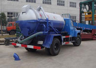 China 5T Corrosion Resistant Special Purpose Vehicles , 6.5L Sewage Pump Truck XZJ5120GXW factory