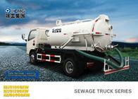 China 6.5L Special Purpose Vehicles , Septic Pump Truck For Noncorrosive Mucus Liquid Without Alkalis factory