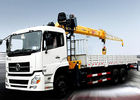 China Durable compact Knuckle Boom Truck Crane , hydraulic truck crane SQZ500K 18ton factory