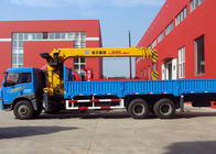 China XCMG 12 Ton Loader Boom Truck Crane , 14.5m Lifting Height company