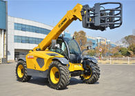 China High Efficiency XC6-3007 Telescopic Boom Forklift / Telehandler Safety Deutz Engine Fork Length 1200mm company