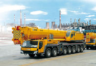 China Durable Single-Cylinder Hydraulic Mobile Crane , 7-Axle All Terrian Crane QAY400 factory