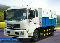 China Custom Waste Collection Vehicles , Special Purpose Vehicles Garbage Dump Truck XZJ5120ZLJ factory