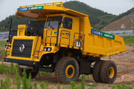 China Hybrid Power Coal Unloading Equipment , 45 Ton Electric Mining Dump Truck factory