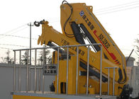 China 360 degrees XCMG Knuckle boom crane Safety Hydraulic for loading With 90L Oil Tank factory
