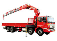 China Fast  Knuckle Boom Truck Mounted Crane For Heavy Things Lifting,16Ton factory