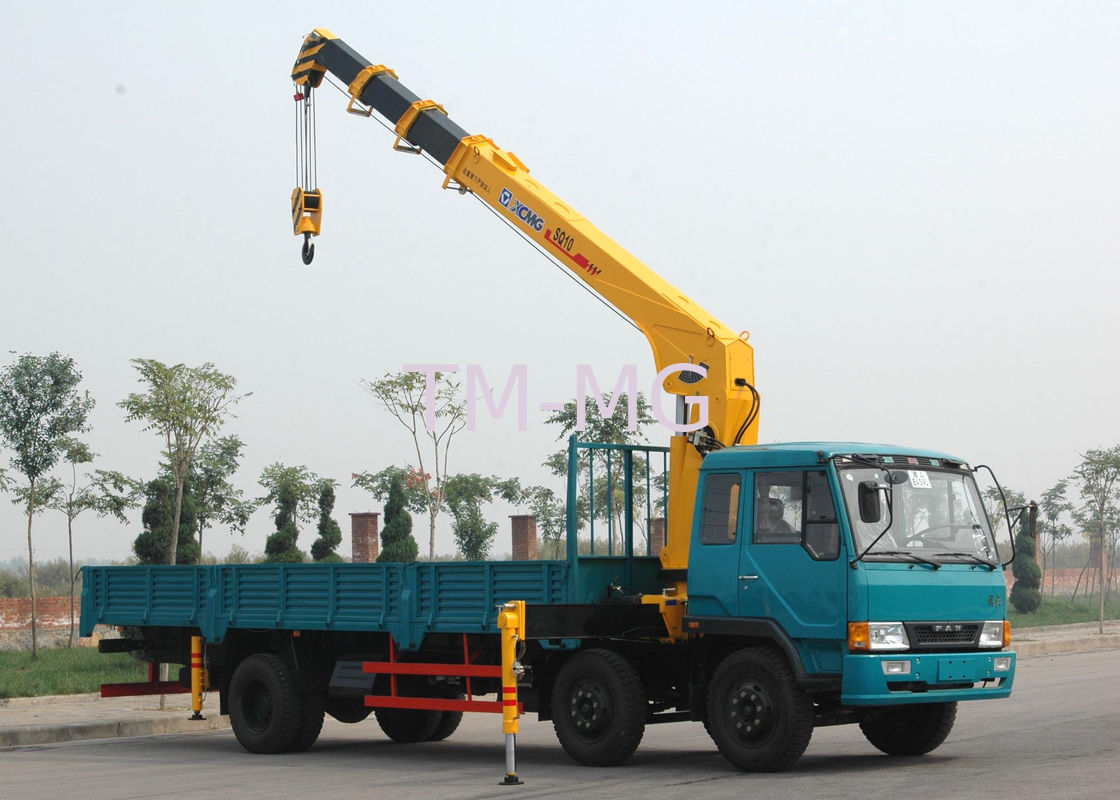 Tractor Hydraulic Boom Crane : Durable xcmg hydraulic commercial boom truck crane with
