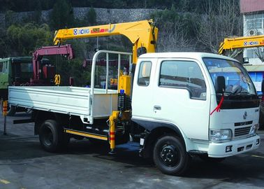 Telescopic Boom Truck Mounted Crane 2.1T For Safety Transport Materials