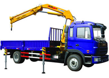 Durable 11meters Truck Mounted Crane 6.3T Used  for Lifting Construction Materials