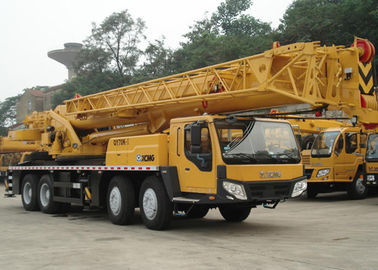 China Durable 70ton Mobile Hydraulic Cranes QY70k-I Truck Crane For Port factory