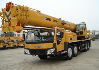 China Extended Boom Mobile Hydraulic Crane Large Working Scope QY70K-I factory