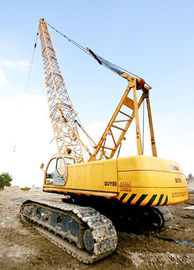 Durable Knuckle Lattice Boom QUY80 Hydraulic Crawler Crane Safe And Heavy