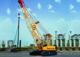 Durable XCMG Hydraulic Crawler Crane Main Boom Length 50m And Fixed Jib Length 18m