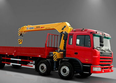 China Safety Telescopic Boom Truck Mounted Crane For Telecommunications facilities factory