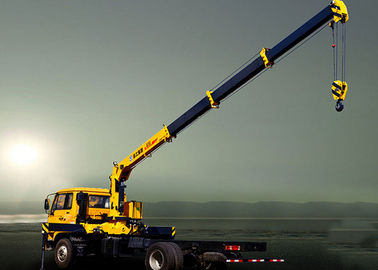 Hydraulic System Telescoping Boom Mobile Crane With 6300kg  XCMG SQ6.3SK2Q