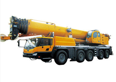 China Retractable Boom hydraulic crane truck , 130 Ton large mobile crane factory