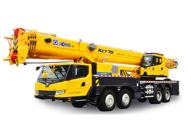 truck mounted boom Hydraulic Mobile Crane XCT75 easy to operate