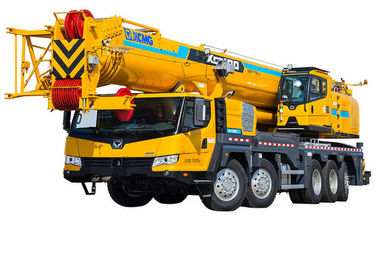 XCT100 Hydraulic Mobile Crane , superior telescopic boom crane For Safety Transportion