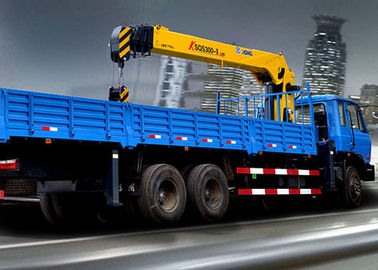 Mini XCMG Telescopic service truck with crane , Safety Transportation