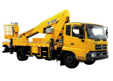 Reaching Up And Over Machinery Truck Mounted Lift 3 Persons loading