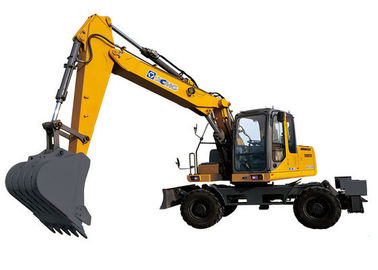 XE150W Excavator 104kw Earthmoving Machinery Powerful digging force