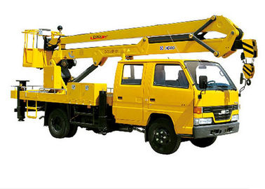 Power strong XCMG 14m small telescopic aerial work platform XZJ5064JGK