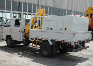 Advanced 2T Heavy Things Articulated Boom Crane For City Construction