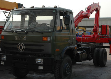 High Efficiency 5 Ton Light Truck Loader Crane , Knuckle Cargo Crane Truck