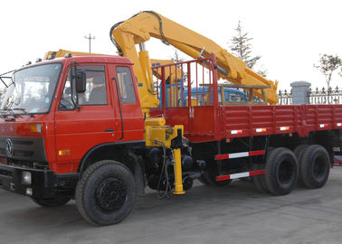 China Durable XCMG Folding Boom Truck Mounted Crane 10T For City Construction factory