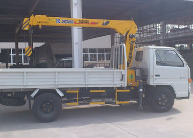 Best Selling Weight Transportation Boom Truck Mounted Crane , 4.2 T.M 2.1 ton