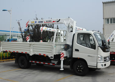 Durable 3.2 Ton Lifting Telescoping Boom Truck Mounted Crane , 6.72 T.M