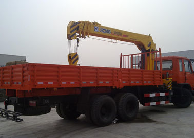 China XCMG 5T Max Heavy Things Small Telescopic Boom Truck Mounted Crane factory