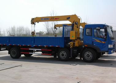Economical Construction Telescopic Boom Truck Mounted Crane For Municipal Services
