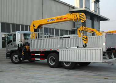China 10T XCMG Mobile Telescopic Boom Truck Mounted Crane With Wire Rope factory