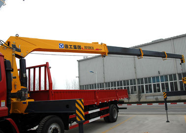 China Hydraulic 12 ton Cargo Lorry-Mounted Crane With Telescopic Boom factory