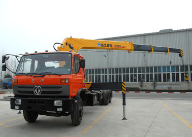 Hydraulic 12 ton Cargo Lorry-Mounted Crane With Telescopic Boom