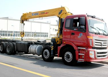 Best Sales 14 Ton Telescopic Boom Truck Mounted Crane Driven By Hydraulic, 35 T.M