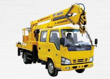 Durable Rotary Platform Truck Mounted Lift For Construction Needs